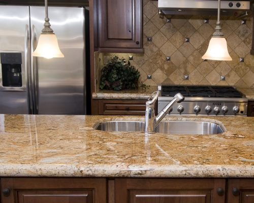 kitchen-with-marble-countertop-5405306